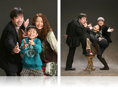 仙台 家族写真・記念写真 証明写真なら仙台の中映写真スタジオ   家族写真 仙台の写真館 中映写